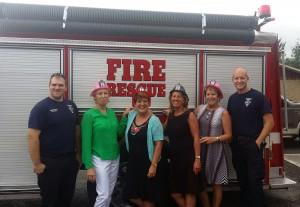 L-R: John Perry, Paula Brock, Donna Robison, Joy Shrader, Carla Bunch and Paul Nolen