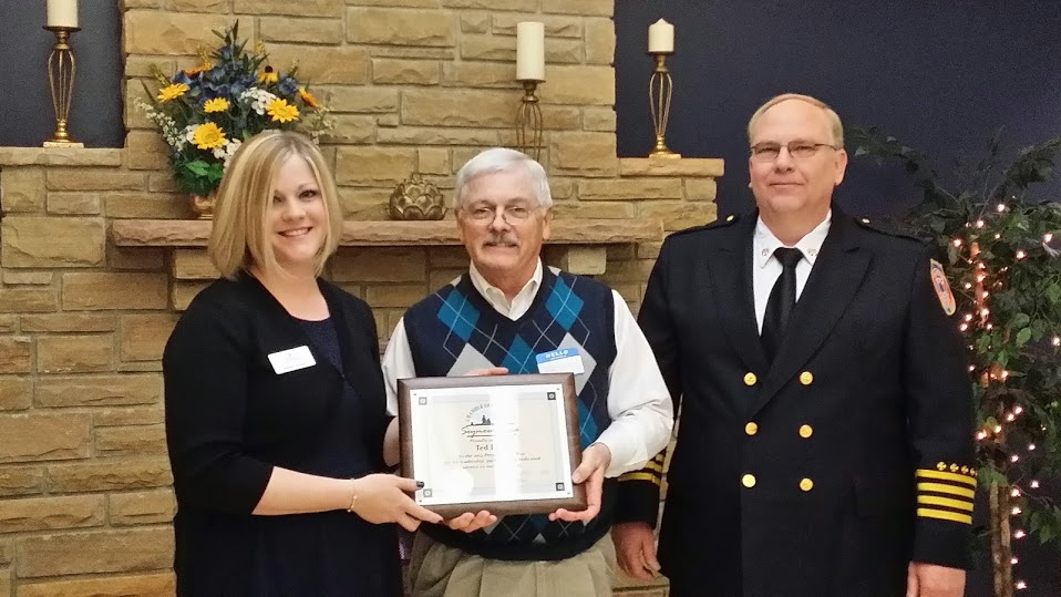 2014 Seymour Area Chamber of Commerce Person of the Year - Ted Esch